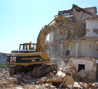 Demolições de Construções no Bairro da Liberdade