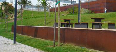 Parque Urbano do Forte da Casa, Fase II<br><br>