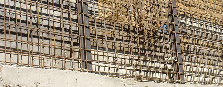 Construção da Estrutura de Estabilização do Talude junto à Bibioteca da Quinta do Mirante 10