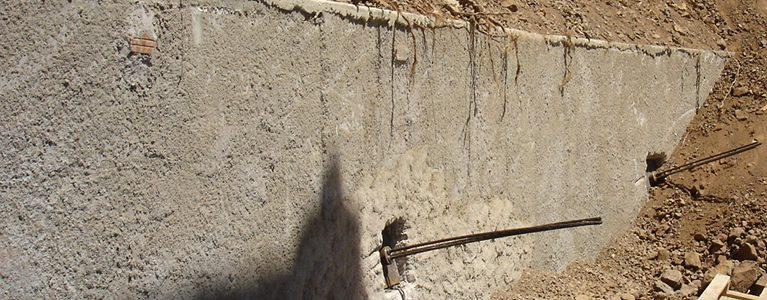 Construção da Estrutura de Estabilização do Talude junto à Bibioteca da Quinta do Mirante 7