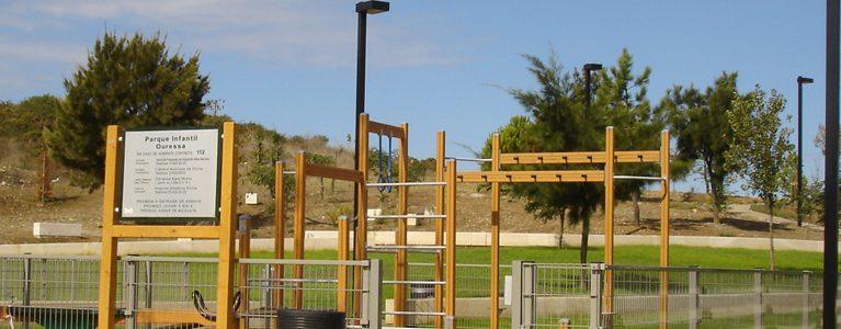 Parques Infantis e Áreas Adjacentes – Bairro de Ouressa, Algueirão 2