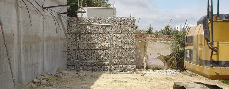 Muro de Suporte Ancorado na Secção 46 do Cemitério do Alto de S. João 10