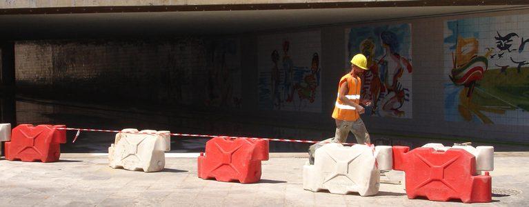 Acabamentos da Passagem Pedonal Inferior do Parque de Palmela 10